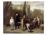 The Fight Interrupted, 1815-16 Giclee Print by William Mulready