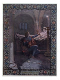 Romeo and Juliet, c.1900 Giclee Print by Christian August Printz