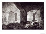 Tomb of the Cardinal at Tarquinia, c.1780 Giclee Print by Franciszek Smuglewicz
