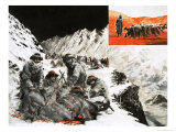 Camal Caravan Camped in the Pamir Mountains Giclee Print by Graham Coton
