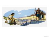 David and Goliath Giclee Print