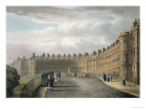 Lansdown Crescent, Bath, 1820 Giclee Print by David Cox
