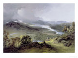 Windermere: from Orrest Head Giclee Print by James Baker Pyne