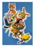 Brer Rabbit and Brer Fox Giclee Print