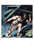 Samson Carrying the Gate of Gaza Giclee Print