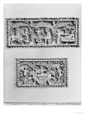Two Plaques from a Chest Giclee Print by  Byzantine