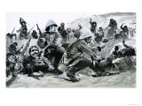 The Afghans Seized Their Chance to Smash the British Giclee Print by Graham Coton
