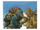 Hillary and Tensing Prepare to Assault the Final Ridge Giclee Print by Ferdinando Tacconi