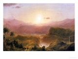 The Andes of Ecuador, c.1876 Giclee Print by Frederic Edwin Church