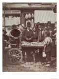 Cheap Fish of St. Giles, from Street Life in London, 1877-78 Giclee Print by John Thomson
