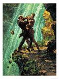The Death of Sherlock Holmes Giclee Print