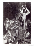 Punishment of a Witch, 1911 Giclee Print by Martin Van Maele