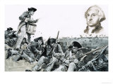 Drummer Beats a Request For Parley at the Battle of Yorktown Giclee Print by Graham Coton