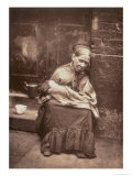 The Crawlers, from Street Life in London, c.1877-78 Giclee Print by John Thomson