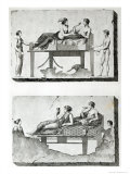 Frescos from Etruscan Tombs, c.1780 Giclee Print by Franciszek Smuglewicz
