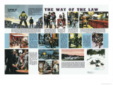 Taming of the West: The Way of the Law Giclee Print by Ron Embleton