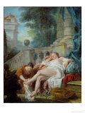 The Bath of Bethsheba, 1727 Giclee Print by Jean Francois de Troy