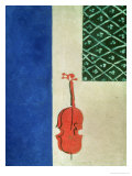 Red Violin, 1919 Giclee Print by Ivan Albertovvitsch Puni