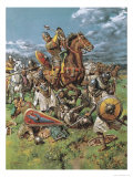The Coming of the Conqueror Giclee Print by Fortunino Matania