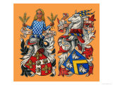 The Guilds of London: The Worshipful Company of Grocers Giclee Print by Dan Escott