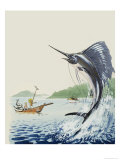 Wee Willie Winkie Has a Lovely Trip to the Seychelle Islands Giclee Print by John Worsley