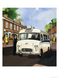 Ambulance Driver Reproduction proc&#233;d&#233; gicl&#233;e