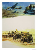 Holland and Belgium in the Second World War Reproduction procédé giclée par Gerry Wood