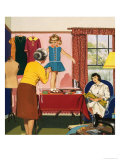 Tailor and Dress Maker Giclee Print