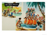 Wee Willie Winkie Goes to Fiji Giclee Print by John Worsley