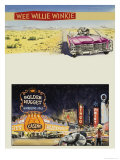 Wee Willie Winkie Visits Las Vegas Giclee Print by John Worsley