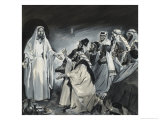 Doubting Thomas, Seeing Christ After the Resurrection Giclee Print by James Edwin Mcconnell