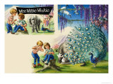 Wee Willie Winkie Goes to Expo 70 in Osaka Giclee Print by John Worsley