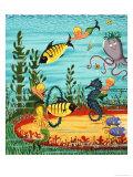 Mermaid Folk Giclee Print