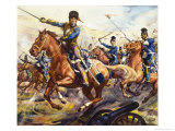 Famous Horses of Fact and Fiction: The Charge of the Light Brigade Giclee Print by James Edwin Mcconnell