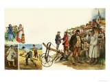 Farming Implements Giclee Print by Peter Jackson