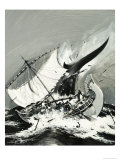 Stories of the Sea: The First Mariners Giclee Print by Graham Coton