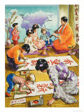Wee Willie Winkie Goes to a Japanese School Giclee Print by John Worsley