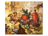 Famous Partnerships: Fire King Giclee Print by James Edwin Mcconnell