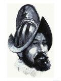Francisco de Coronado, Conquistador Giclee Print by Graham Coton