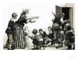 Unidentified Victorian School Scene Giclee Print by Frank Marsden Lea