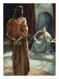 Christ in Front of Pontius Pilate Giclee Print by Henry Coller