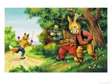 Brer Rabbit Giclee Print by Henry Charles Fox