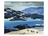 Marco Polo on the Long Road to China Giclee Print by Ron Embleton