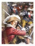 Cyrano de Bergerac Giclee Print by Septimus Edwin Scott