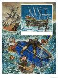 Shipwreck Giclee Print by Ken Petts