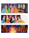 Illustrations from Beauty and the Beast Giclee Print by Ron Embleton