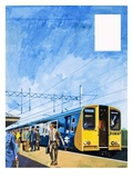 Class 313 Train Giclee Print by Harry Green