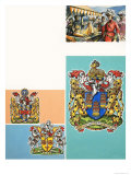 The Guilds of London: The Worshipful Company of Drapers Giclee Print by Dan Escott