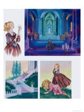 Illustrations For Beauty and the Beast Giclee Print by Ron Embleton