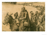 Peter the Hermit Giclee Print by Fortunino Matania